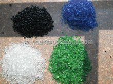 colored crushed glass