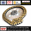 motorcycle small sprockets,motorcycle chain kit,motorcycle spare part chain and sprocket
