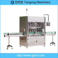 6 head automatic red palm oil bottle filling machine