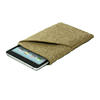 Felt Handmade Bag Holder Pouch for Apple iPad Mini in Camel Color