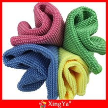 Dust removal durable absorbent mcrofiber car cleaning towel from China
