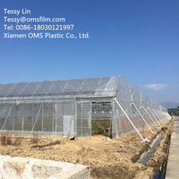Commercial Plastic Poly Tunnel Greenhouse Film