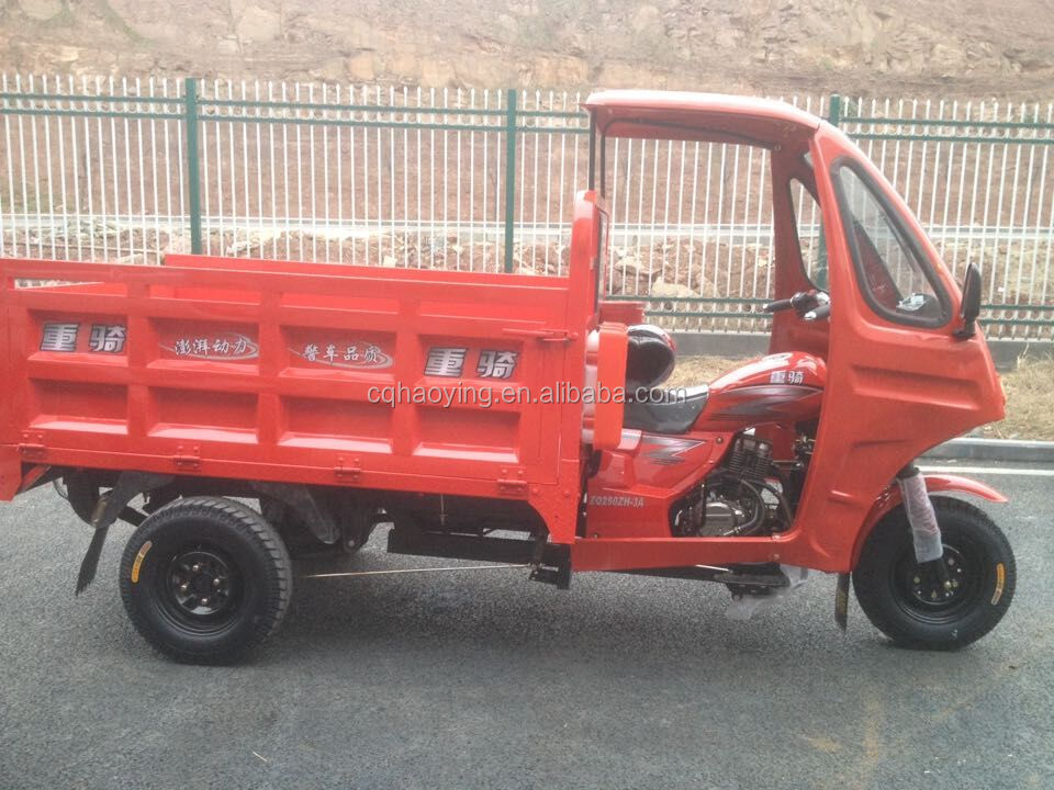 Popular Model Wind Glass Nigerian Enclosed Cabin 3 Wheel Vehicle For Sale