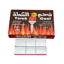 Wholesale price quick lite hookah smoke silver charcoal flame coal