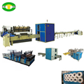 High speed automatic toilet paper machine production line