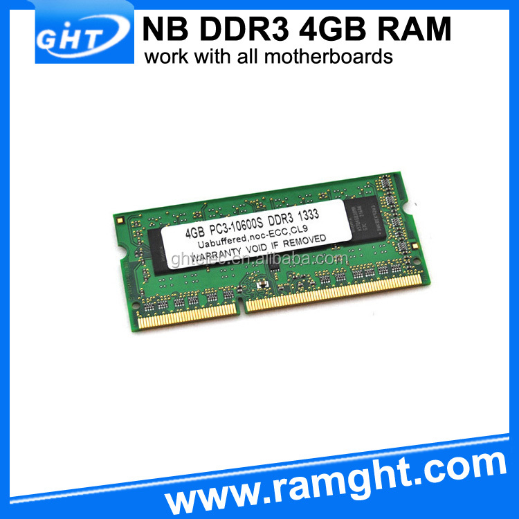 Computer hardware parts so dimm ram 1600mhz ddr3 4gb memory module