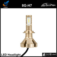 2017 new arrive Copper PCB 8G Motorcycle/ Auto led headlight H7