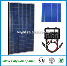 chinese cheap price solar panel 300w with TUV,UL,CE,ISO