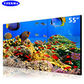 Factory price 4k super HD advertising lcd video tv wall 46inch 3.5mm narrow bezel 4x5 video wall solution