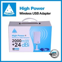 Outdoor wifi booster 24dBi Ralink 3070 chipset 150Mbps,802.1n Melon N89