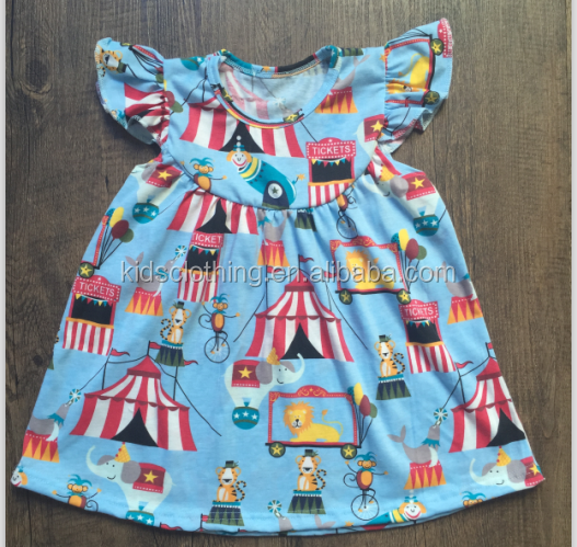 New design cotton frocks newborn baby one-piece boutique dresses for spring