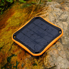 Hot Sale Waterproof Power Bank Dual USB Window Solar Charger with LED