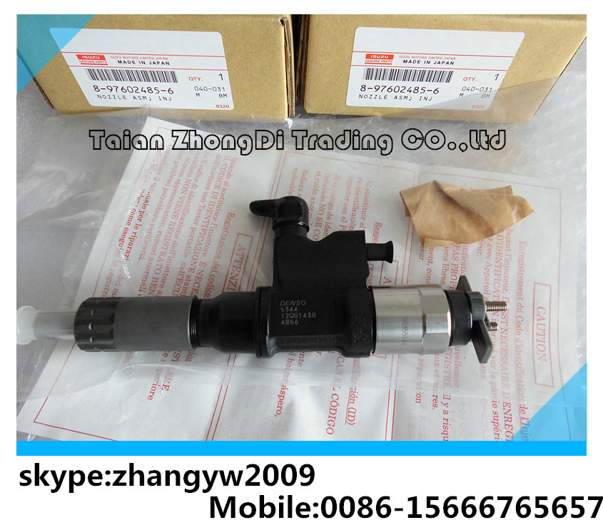 DENSO common rail injector 8-97602485-6 for 4HK-1 6HK-1 095000-5344 095000- 5342