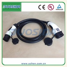 IEC 62196 to 62196 type2 EV charging cable/ ev charging cable european/3 phase mode 3 charging cable