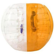 Alibaba Golden Supplier Orange Clear Inflatable Battle Human Body Bubble Soccer, Inflatable Bubble Ball for Bounce