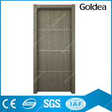 Goldea china supplier solid wood entry front mahogany door
