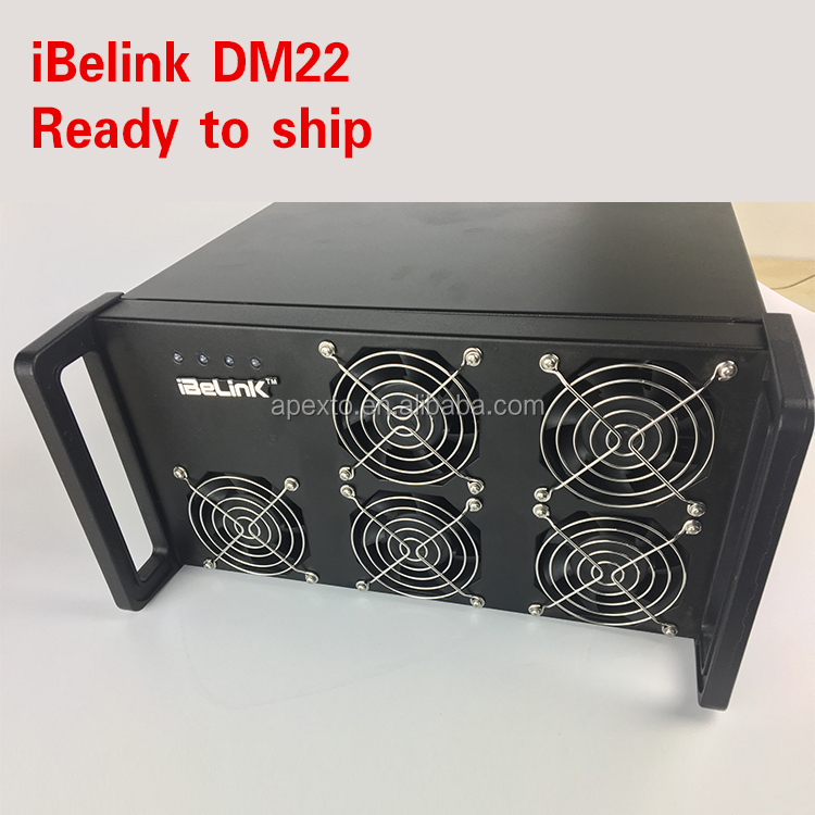 Newest ibelink DM11 10.8 Dash Miner iBeLink DM22G ASIC X11 Mining Machine on Stock