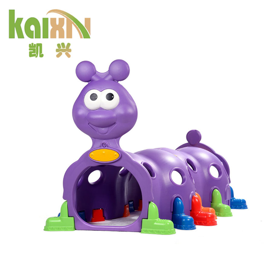 Kids Garden Plastic Play Tunnel Toy Item Worm Tunnel