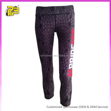 women tight yoga sports fitness pants Women Athletic Sublimation Yoga Pants Elastic Quality Gym Wear