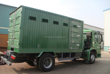 China good quality 4x2 mobile lubricant truck/mobile workshop for lubrication