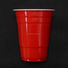 16oz Disposable Plastic PP Red Cup