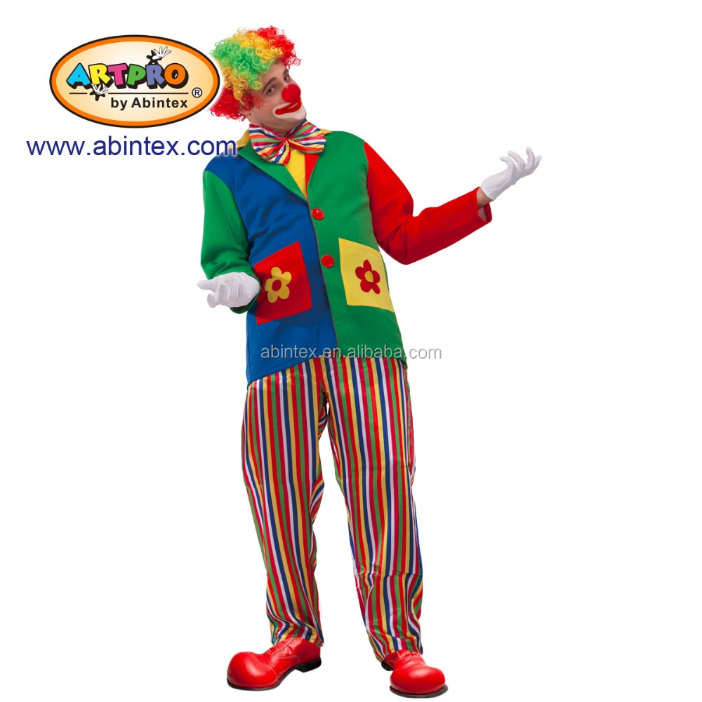 Clown n costume (09-310) as party costume for man