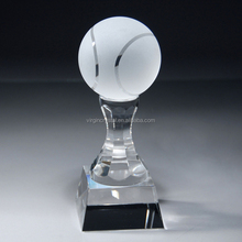high quality crystal sports tennis trophy tennis awards