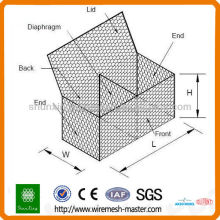Alibaba China Gabion Box Wire Mesh