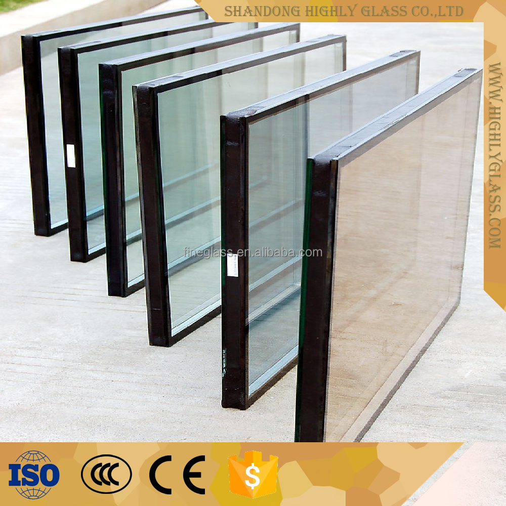 Fireproof glass windows for fireplace