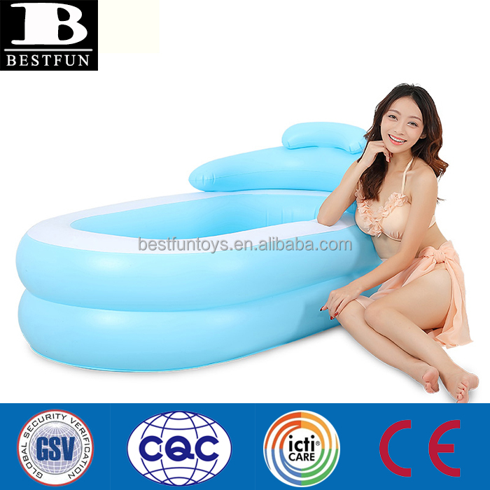 eco-friendly inflatable adult bathtub folding adult hot bathtub portable heavy-duty sex hot bat tub massage spa