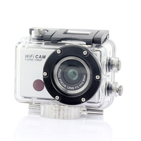 Newest Full HD 1080P Waterproof 30M Wifi Sport Camera Mini DV With Remote Control