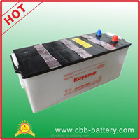Super power car battery for car truck starting 12v 170Ah dry charged car battery