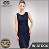 2018 women Summer Bodycon Dress Ladies sexy straight black waist pleasted dress