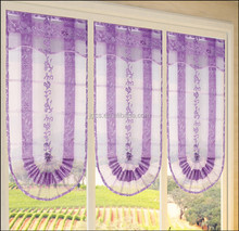 hot sell lovely pink folded roman blind/roman blinds and shades