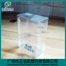 Factory product Customized Transparent Plastic Packaging PVC Boxes