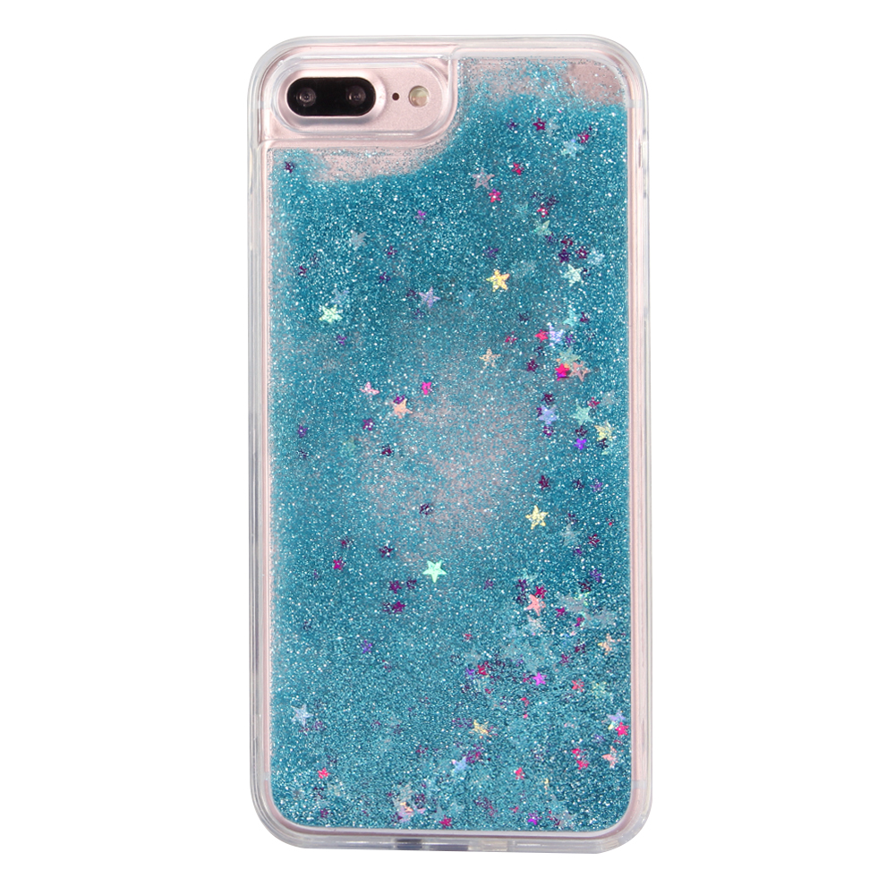 TPU Glitter Quicksand Cellphone Case for iPhone 7/For iPhone 7plus Bling Liquid Cover