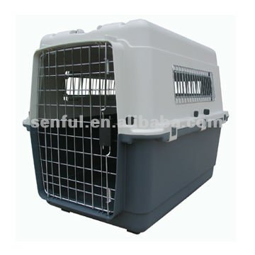 Flight Cage Plastic Dog Carrier large dog carriers