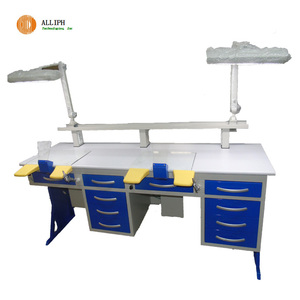 CE approved dental lab work bench dental technician table
