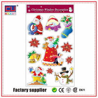 Custom Holiday Sticker Christmas Sticky Window Decoration