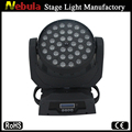 36*10w 4 in 1 quad led movng head wash zoom