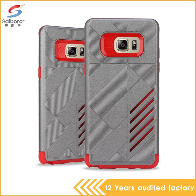 Latest high quality tpu pc 2 in 1 for galaxy note case