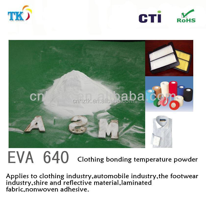 EVA640 hot melt adhesive powder // For screen printing and heat transfer ink.