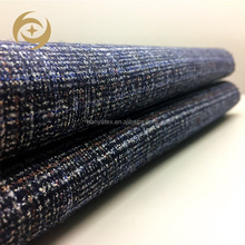 2018 Best quality tr shiny men's Italian suit fabric polyester rayon fabric