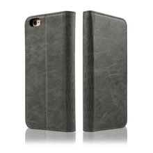 C&T Custom Leather Case and Cover for iphone 7 Flip Shockproof Folding Leather Cover Case for Universal iphone Case