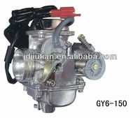 GY6-150 motorcycle carburetor parts