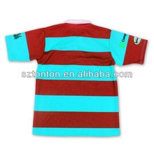 sublimated mens 5xl rugby jerseys