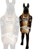 outdoor sculptures antique life size fiberglass egyptian statues for sale