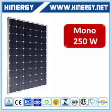 Multifunctional solar panels 48v 250w chile solar panels 250 watts yingli made in China