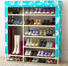 new products custom wall mounted metal shoe rack with door