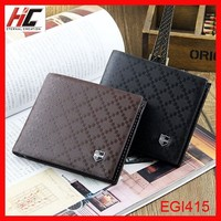 Very easy selling men business gift wallet holster modern Ykss branded short purses with sim card case